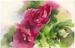 Roses 2. Diptych