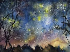 Nightfall by OlgaSternik