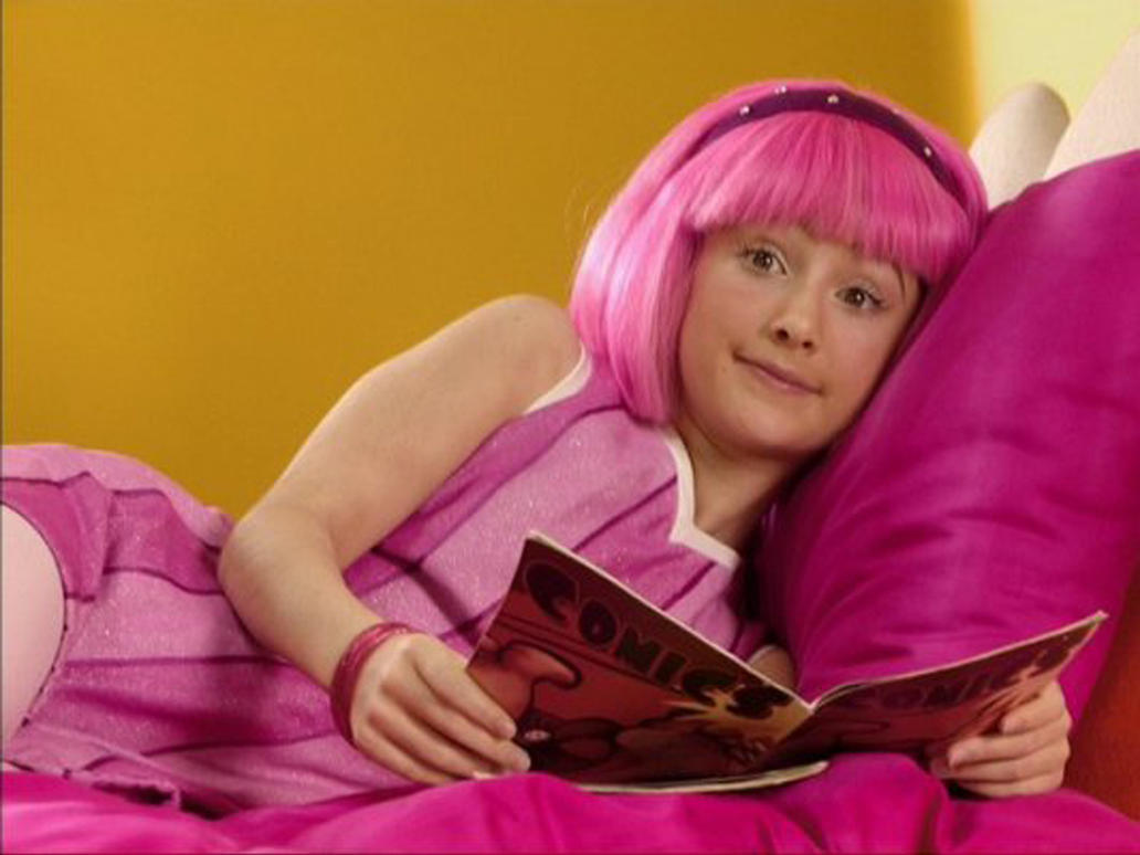 Remarkable, Lazy town stephanie hot sexy videos