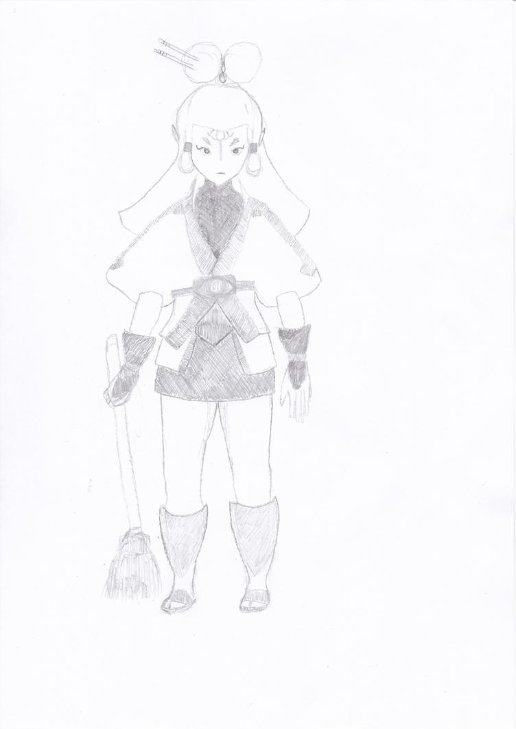 Legend of Zelda Breath of the Wild Paya Pencilart by Nimroden