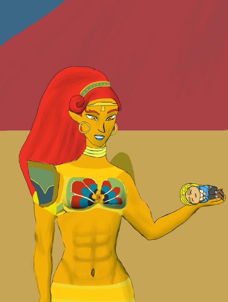 BOTW Urbosa - Chibi Zelda Fanart by Nimroden