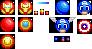 The Avengermotes: Iron-mote and Captain Emotia by EmotiKai