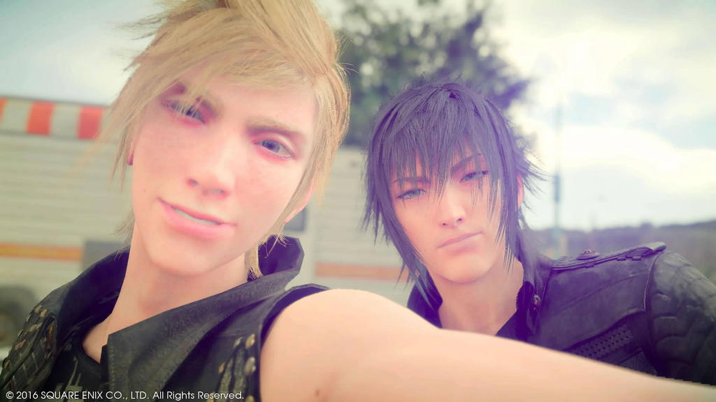Final Fantasy XV Prompto And Noctis By OoSanjinoO