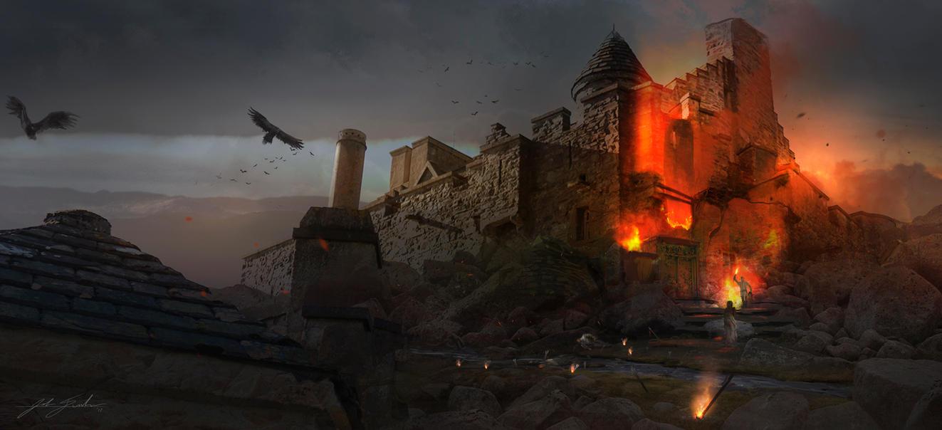 Castle Siege by mastrman