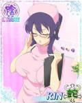 new card pink nurse