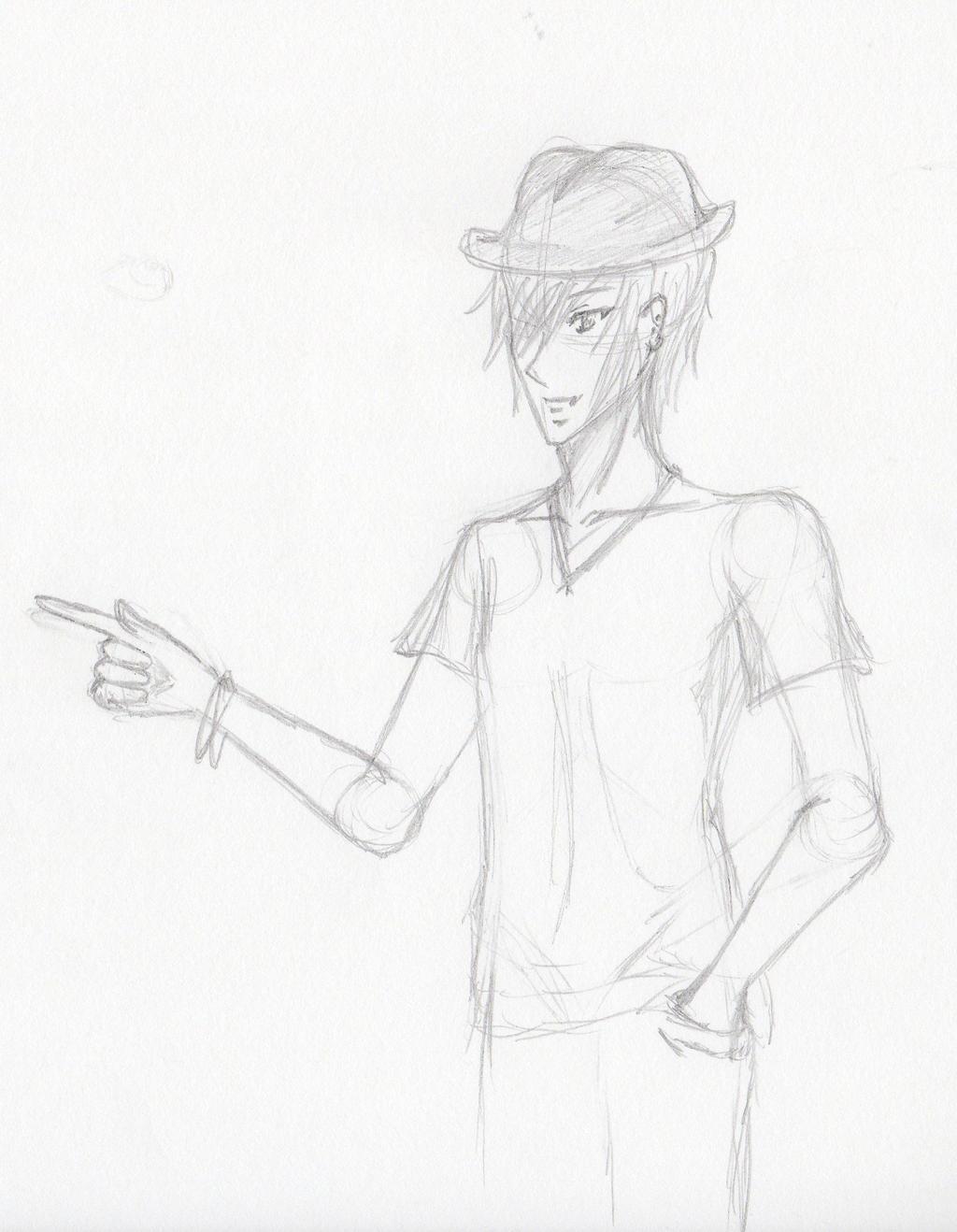 Cool Boy Sketch By Futsunotenshinai On Deviantart