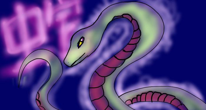 chinese zodiac :snake by stargirl5286 on deviantART