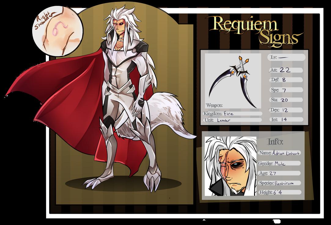 Requiem signs Leader app, Adrian by stargirl5286
