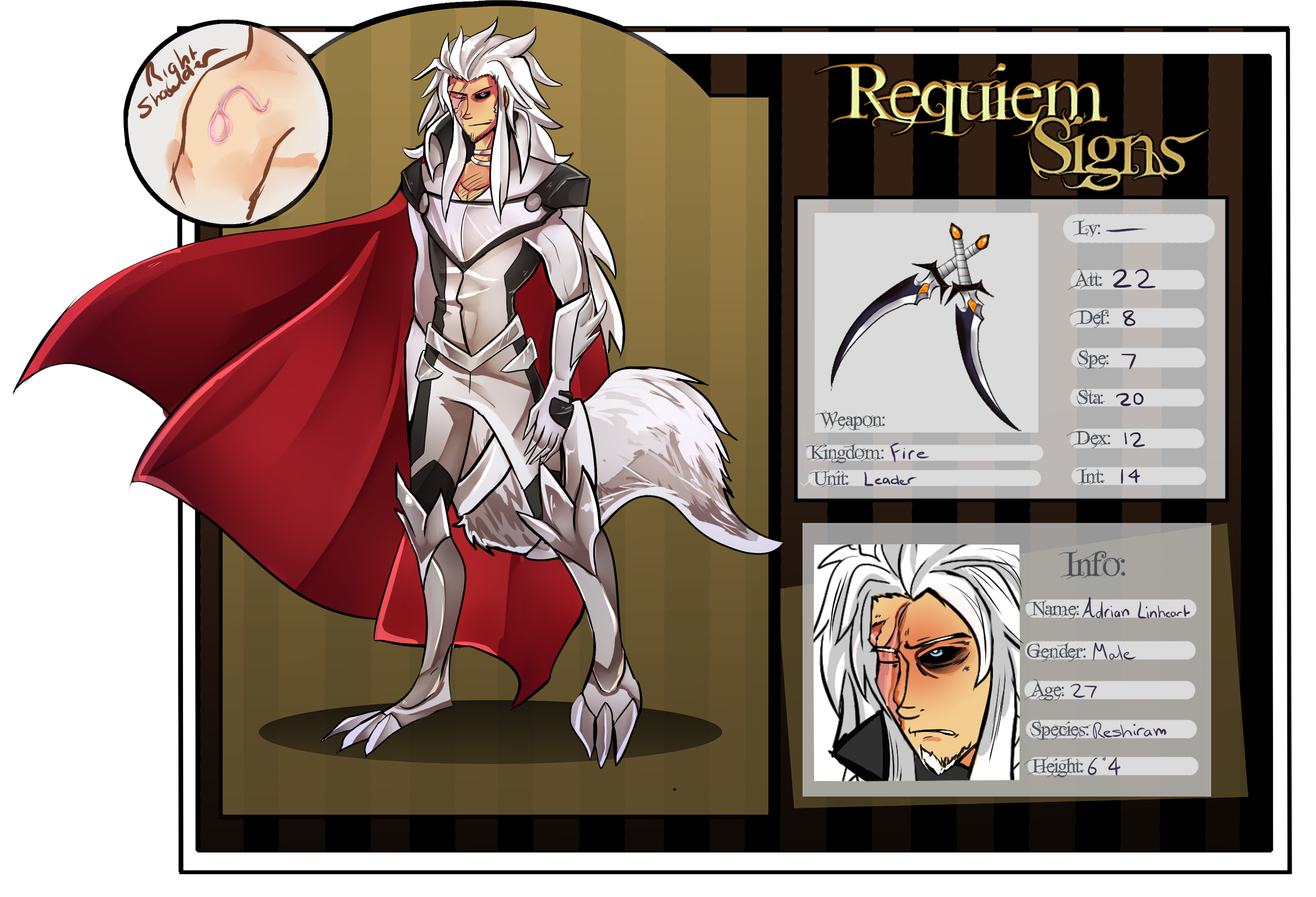 Requiem signs Leader app, Adrian by stargirl5286
