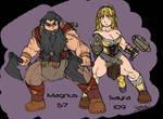 Magnus and Sayra
