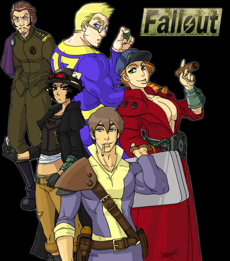 Fallout 4 Anime Characters : Fallout lineage by thethrash
