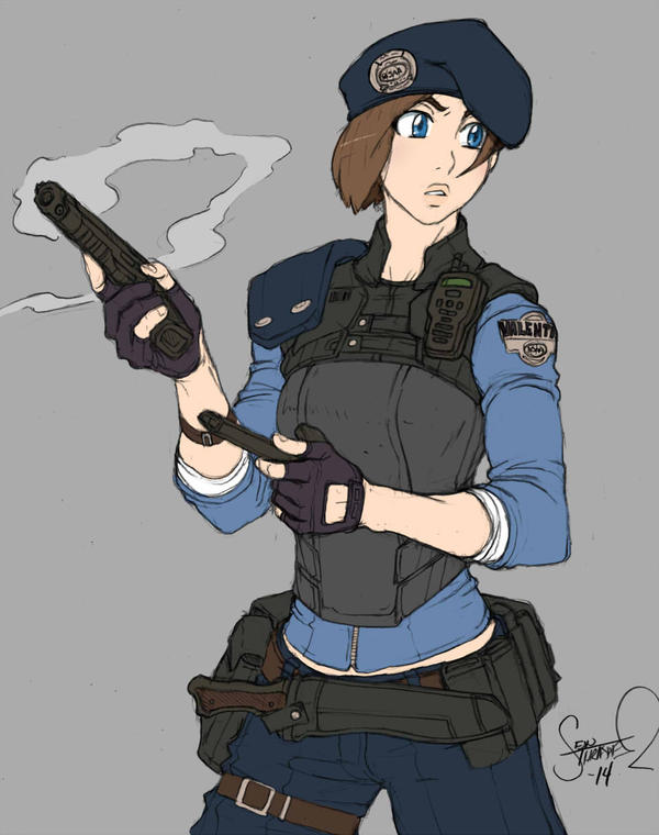 Super Jill by thethrash87