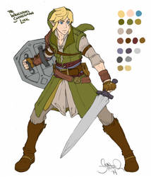The Wandering Swordsman by Shardanic