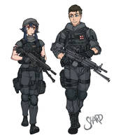 CMS- Umbrella Troops by Shardanic