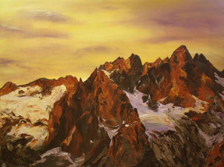 Warm Peaks by KCJoughDoitch