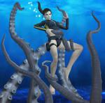 Kraken gets the Tomb Raider