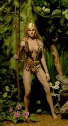 Custom Jungle Queen: Sheena 1 by billvolc