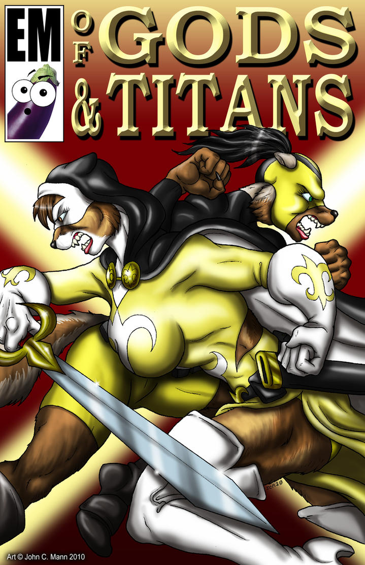 OF GODS AND TITANS COVER by Eggplantm