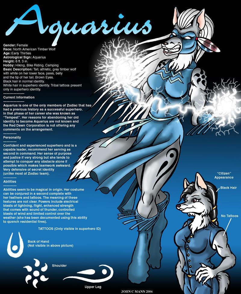 Aquarius Character Sheet By Eggplantm On Deviantart