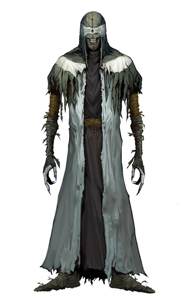 Evil Monk by JohnnyTHL
