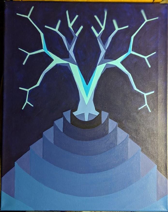 tree of the midnight sun