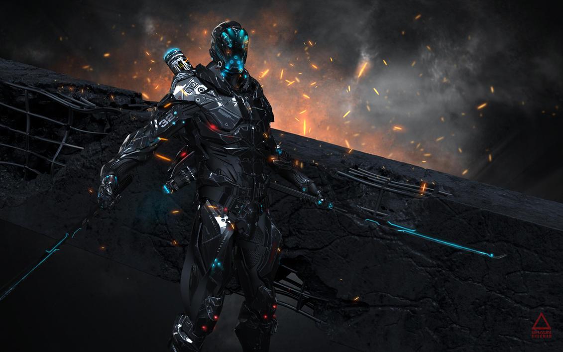 Futuristic Combat Suit by ShaunSherman on DeviantArt