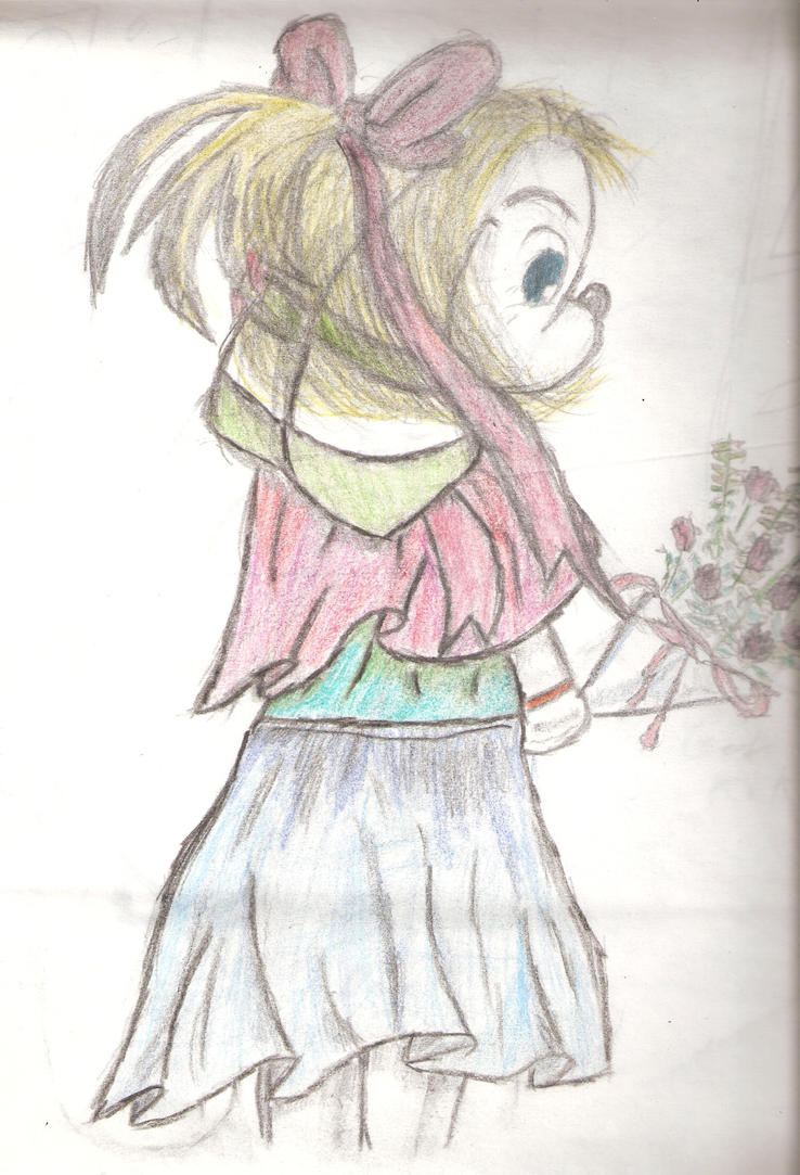 Flower girl by SpikeSpigal96797