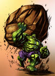 Hulk Toss by Johnathan Rector - Colors