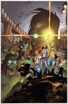 Fanboys vs Zombie by Jung/MatteoScalera - Colors