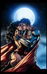 Superman/Wonder Woman - by Jim Lee/Inkist - Colors