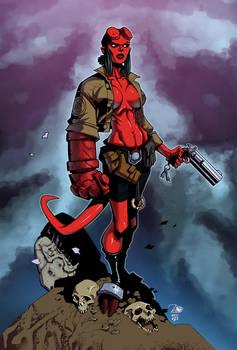 Hellgirl by Randy Green/Izaak Wilson - Colors