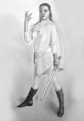 Jedi - Pencil Practice by TrinityMathews