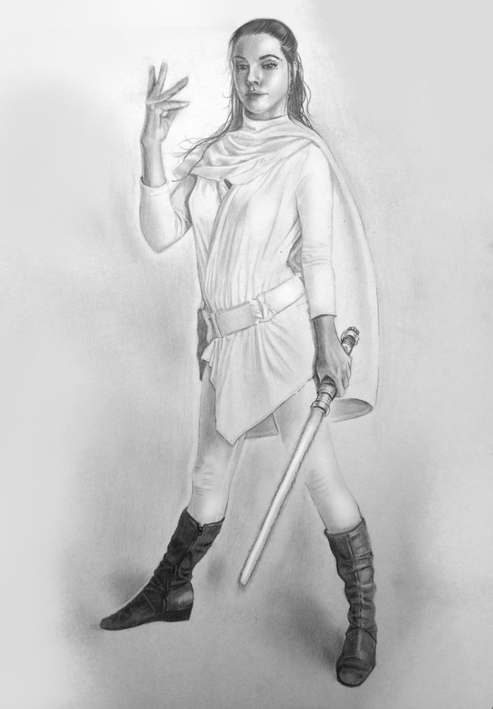 Jedi - Pencil Practice by TrinityMathews