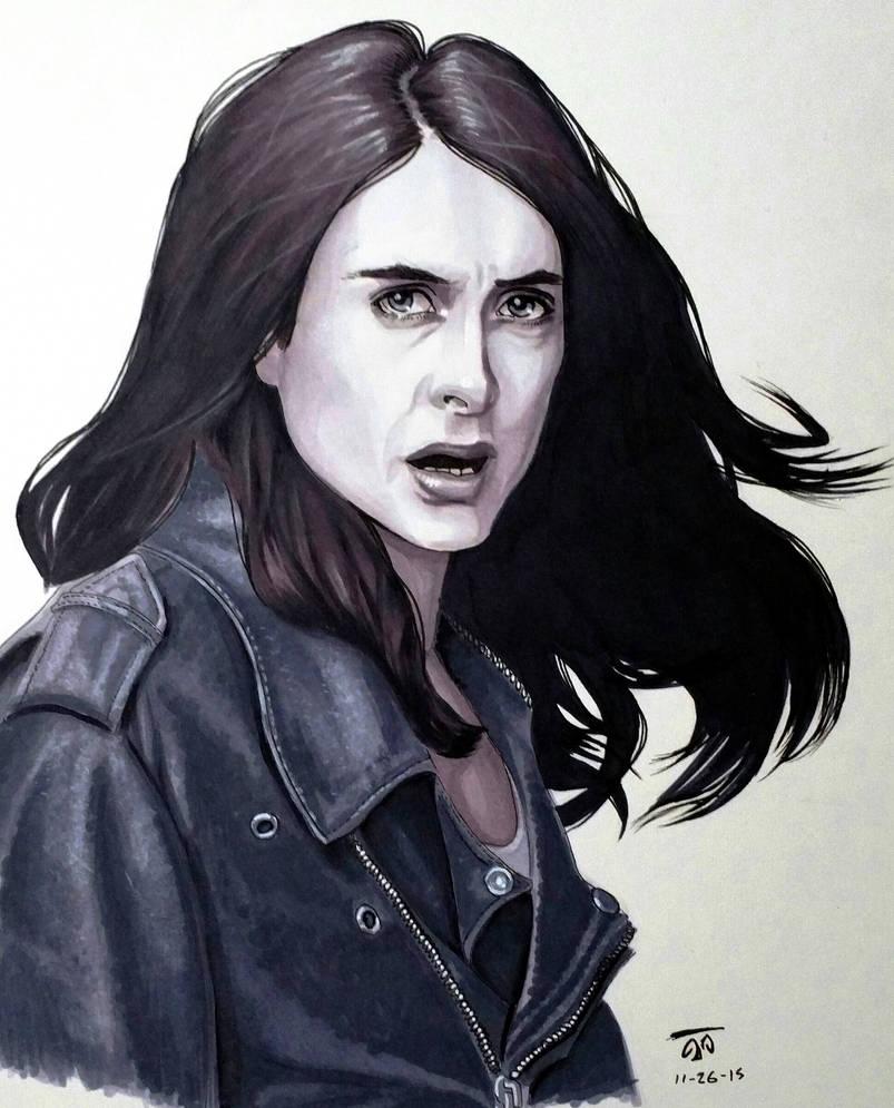 Jessica Jones - Grayscale Markers