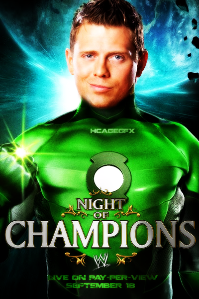 Night of Champions 2011 Poster by HakDesign