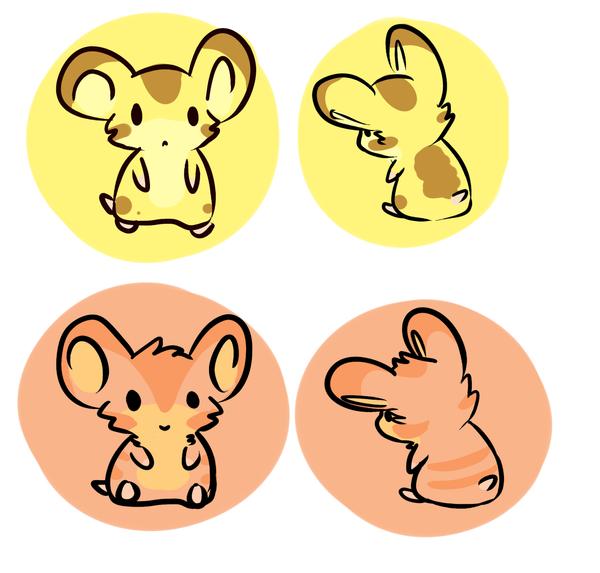 HAMSTERS not mice by Renapop
