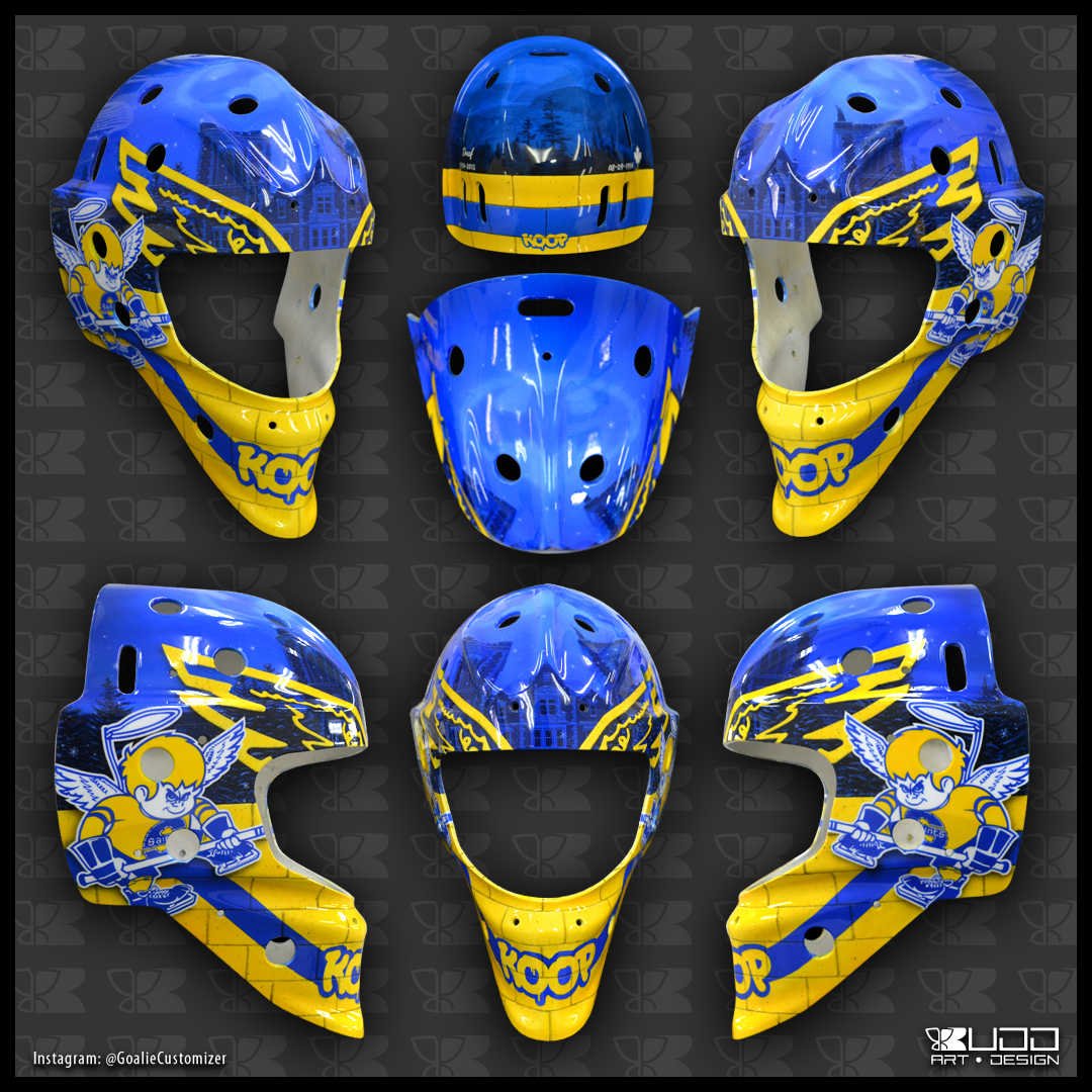 batman goalie mask by ruddiger on deviantart