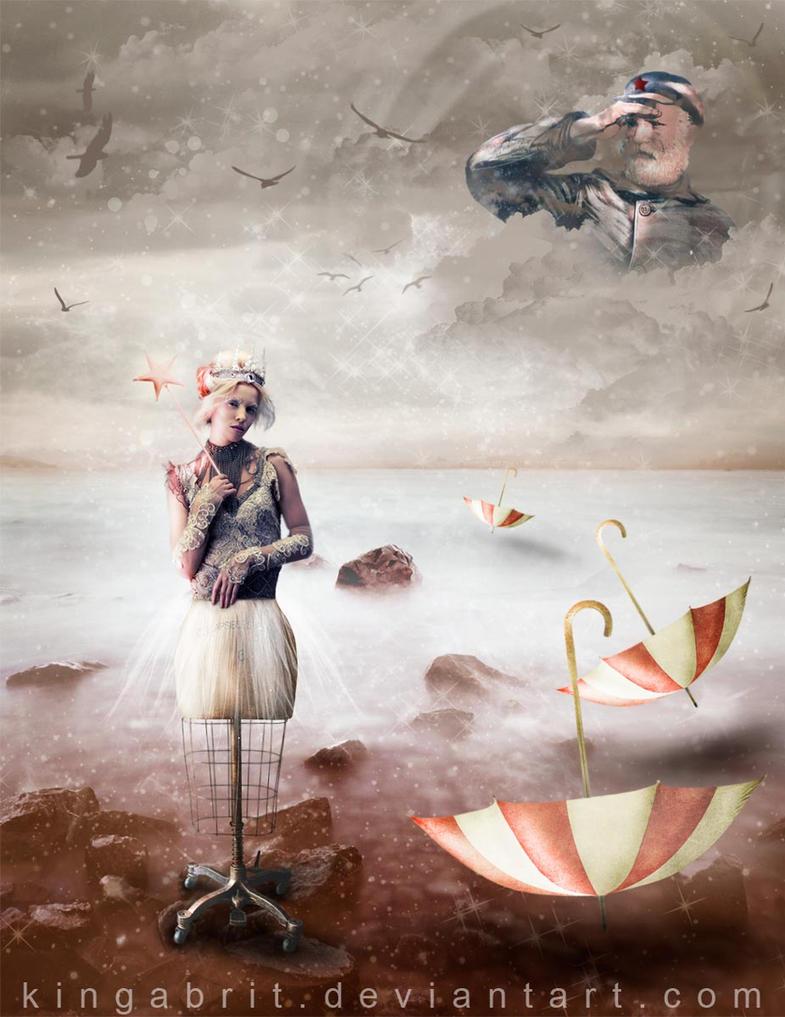 Red Star Fairy by KingaBritschgi