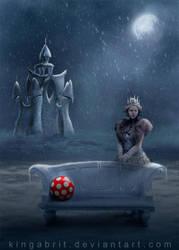 The Red Ball by KingaBritschgi