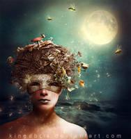Midsummer Night (Titania/Hippolyta) by KingaBritschgi