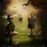 The Egg-stremist Fairy by KingaBritschgi