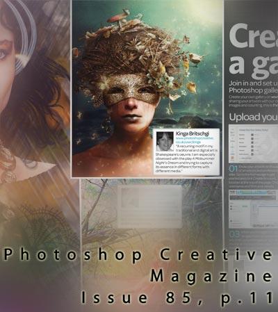 Photoshop Creative, Issue 85 by KingaBritschgi