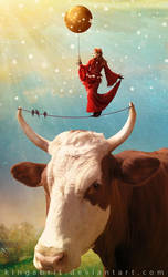 Artista Cowsmica by KingaBritschgi