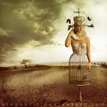 The Queen's Scarecrow by KingaBritschgi