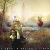 Mr. Newton Has An Idea by KingaBritschgi