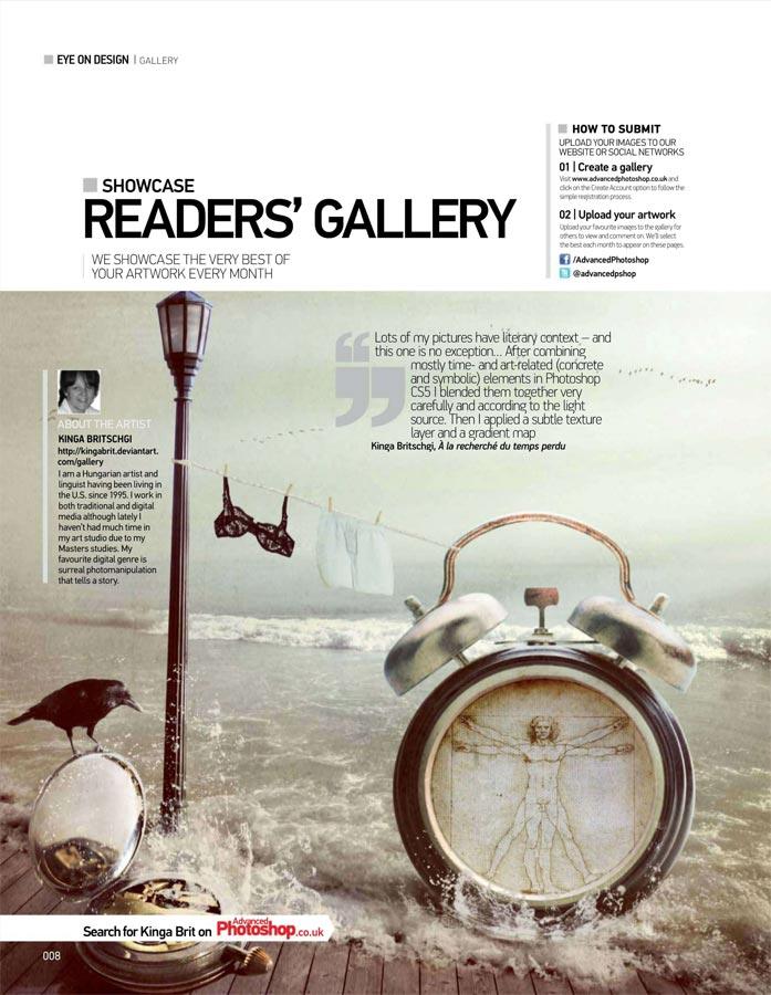 Showcased in Advanced Photoshop - Issue 102 by KingaBritschgi