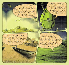 The Huntress - the comic book version by KingaBritschgi