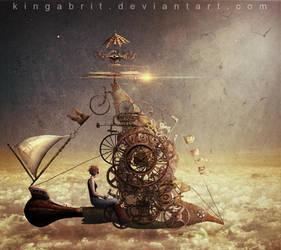Under Her Own Steam by KingaBritschgi
