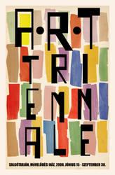 Art Triennale Poster by KingaBritschgi