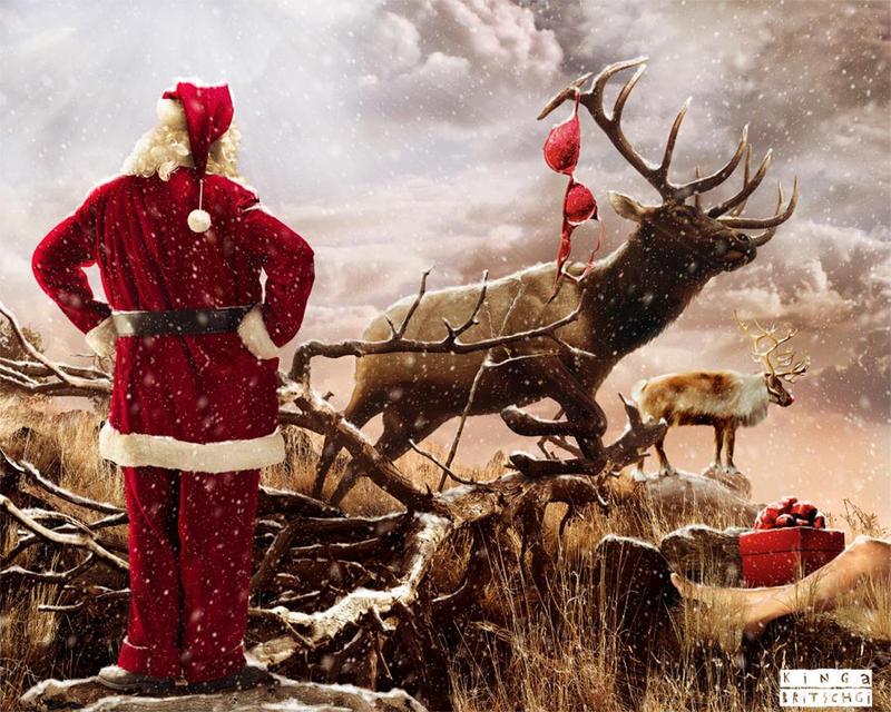 The Christmas Gift by KingaBritschgi